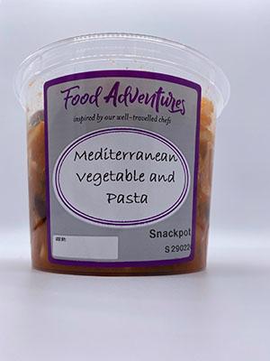 Mediterranean Vegetable in Tomato Sauce and Pasta