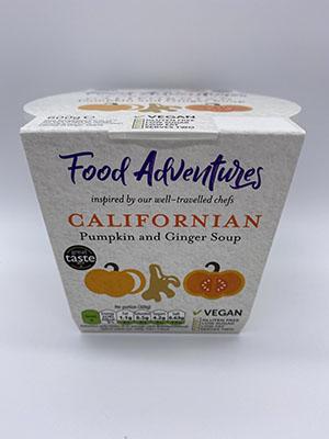 Californian Pumpkin and Ginger Soup